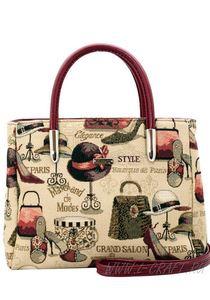 Каталог классических гобеленовых сумок